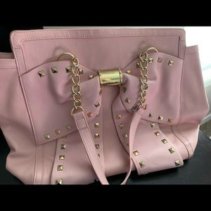 Betsey Johnson - Pink Bow Tote